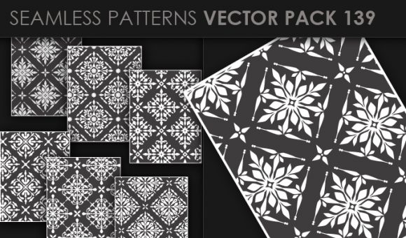 Seamless Patterns Vector Pack 139 5