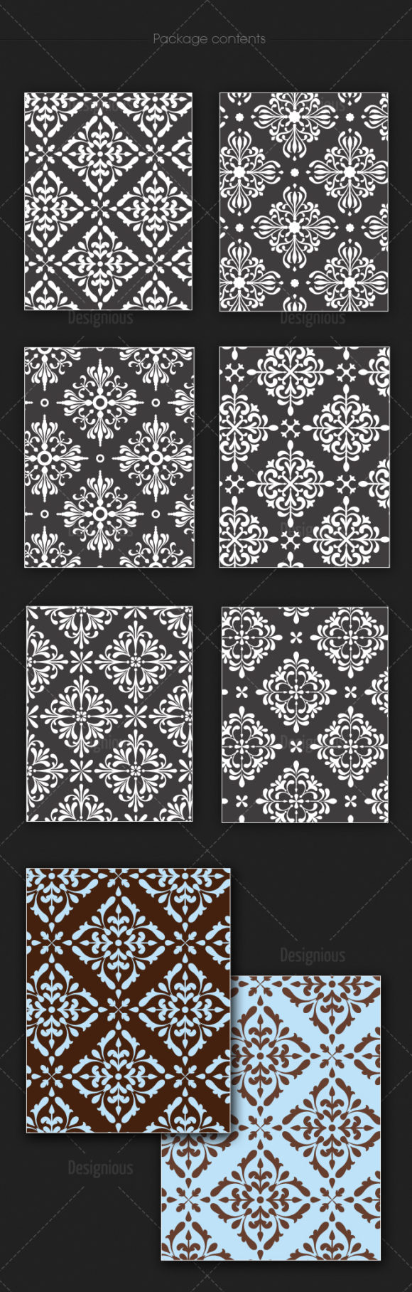 Seamless Patterns Vector Pack 140 products seamless patterns vector pack 140 large
