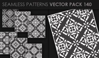 Seamless Patterns Vector Pack 140 Vector Patterns [tag]