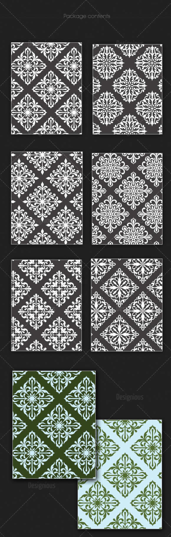 Seamless Patterns Vector Pack 141 6