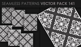 Seamless Patterns Vector Pack 141 Vector Patterns [tag]