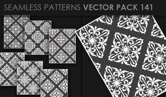 Seamless Patterns Vector Pack 141 5