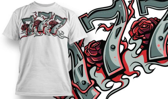 T-shirt Design 644 1