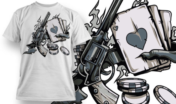 T-shirt Design 645 1