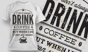 T-shirt Design 650 T-shirt designs and templates vector