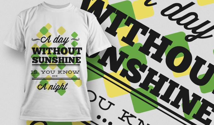 T-shirt Design 652 T-shirt designs and templates vector