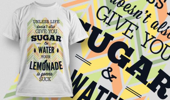 T-shirt Design 657 T-shirt designs and templates vector