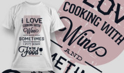 T-shirt Design 658 T-shirt designs and templates vector