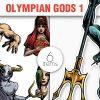 Greek Mythological Olympian Gods Vector Pack 1 1