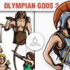 Greek Mythological Other Gods Vector Pack 1 products designious vector gods 2 small