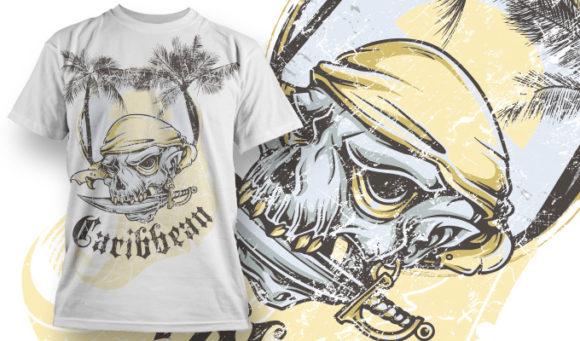 T-shirt Design 665 T-shirt Designs and Templates vector