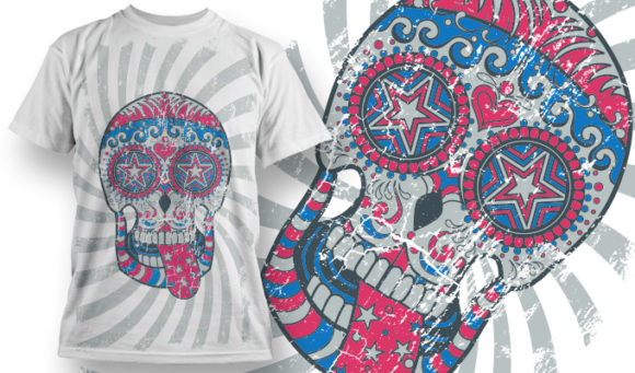 T-shirt Design 666 1