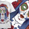 T-shirt Design 668 products designious tshirt design 669