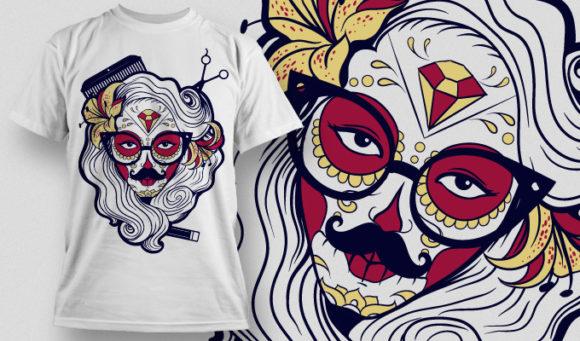 T-shirt Design 672 T-shirt Designs and Templates vector