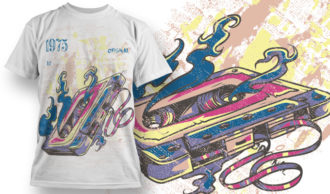 T-shirt Design 686 T-shirt Designs and Templates vector