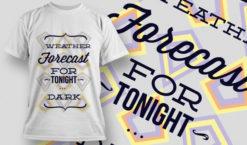 T-shirt Design 697 T-shirt designs and templates vector