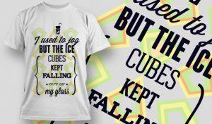 T-shirt Design 699 T-shirt designs and templates vector