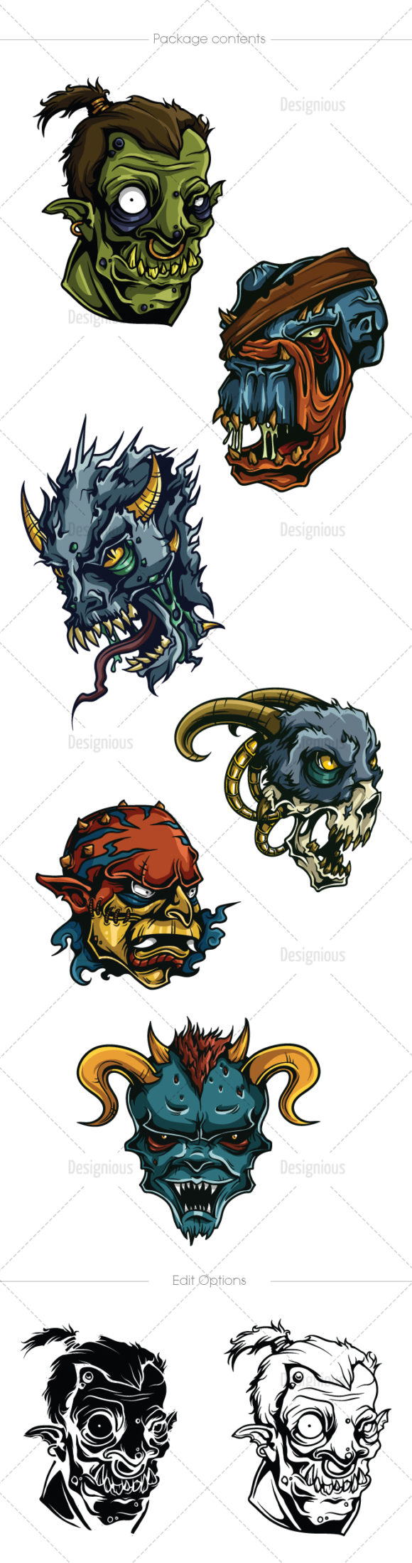 Freaks Vector Pack 4 products designious vector freaks 4 large 1