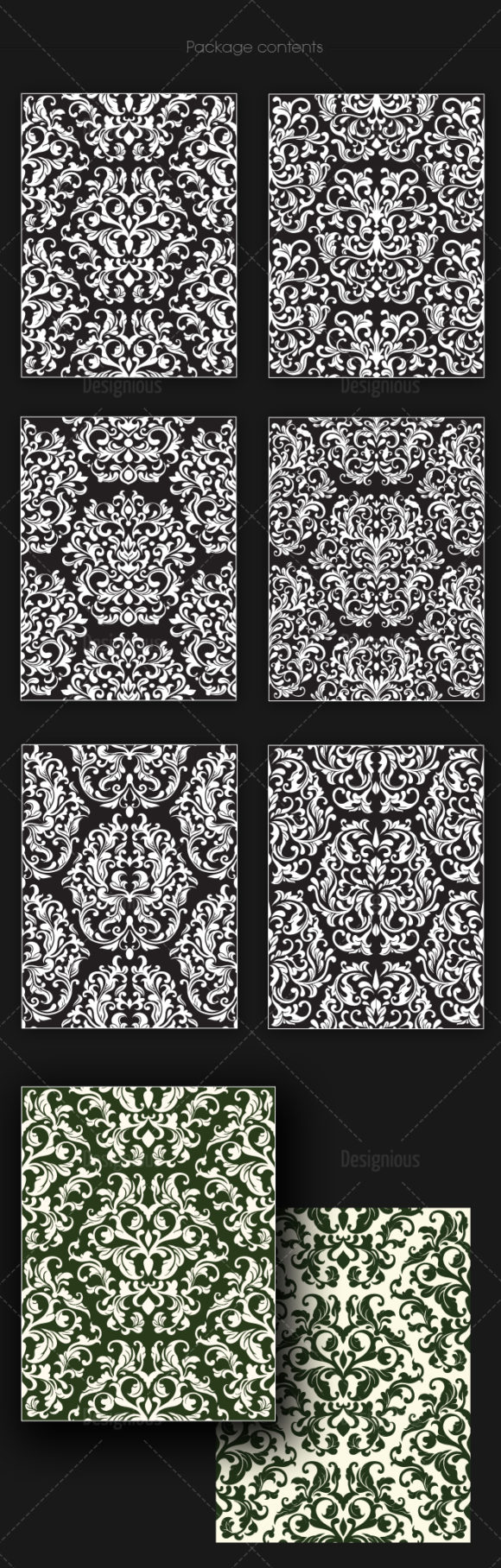 Seamless Patterns Vector Pack 142 6