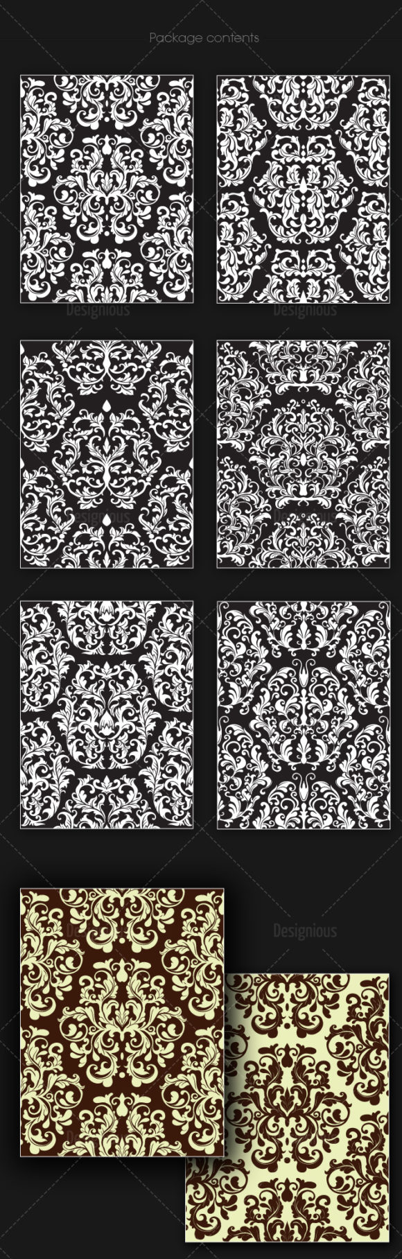 Seamless Patterns Vector Pack 143 products designious vector seamless 143 large
