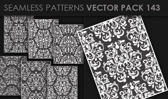 Seamless Patterns Vector Pack 143 products designious vector seamless 143 small