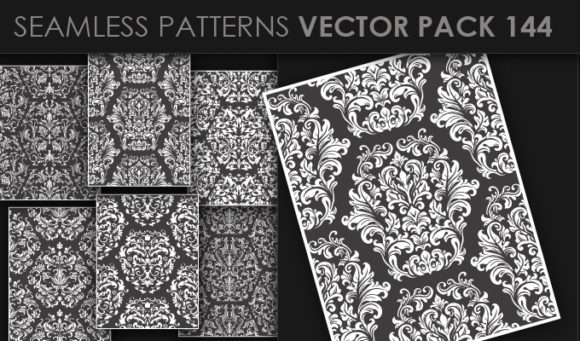 Seamless Patterns Vector Pack 144 5