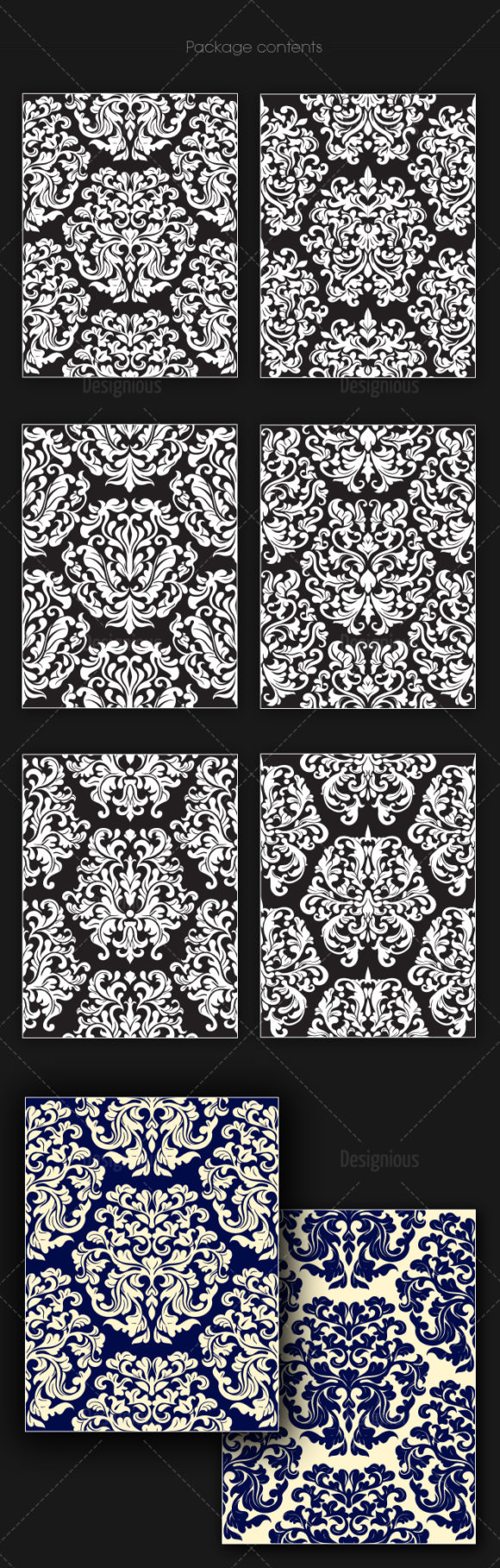 Seamless Patterns Vector Pack 145 products designious vector seamless 145 large