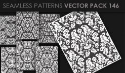 Seamless Patterns Vector Pack 146 Patterns [tag]