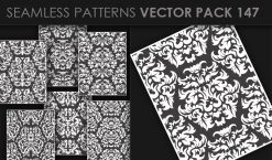 Seamless Patterns Vector Pack 147 Patterns [tag]