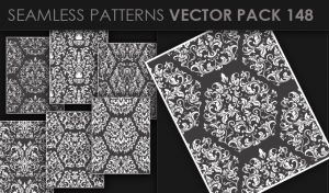 Seamless Patterns Vector Pack 148 Patterns [tag]