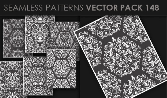 Seamless Patterns Vector Pack 148 5