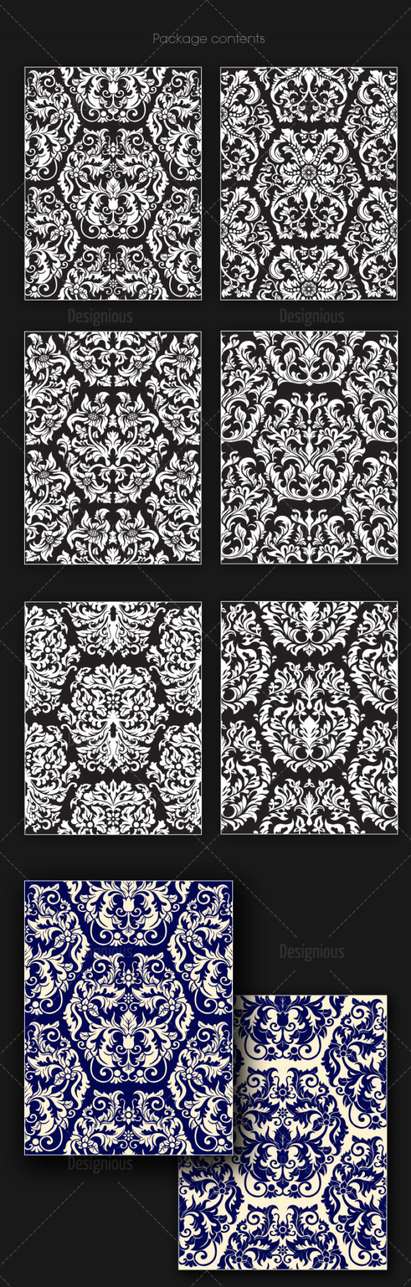 Seamless Patterns Vector Pack 149 products designious vector seamless 149 large
