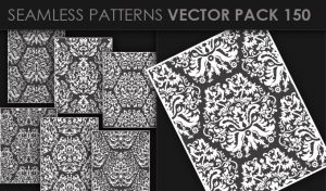 Seamless Patterns Vector Pack 150 Patterns [tag]
