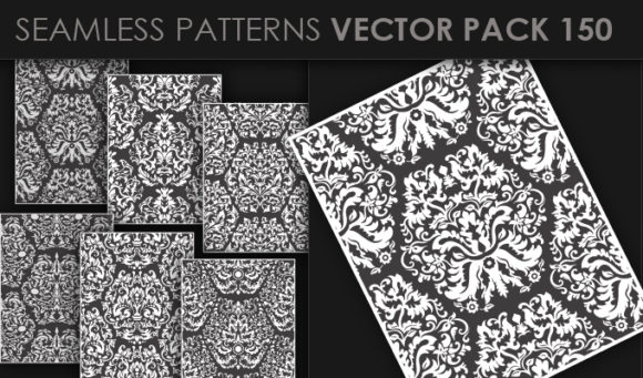 Seamless Patterns Vector Pack 150 5