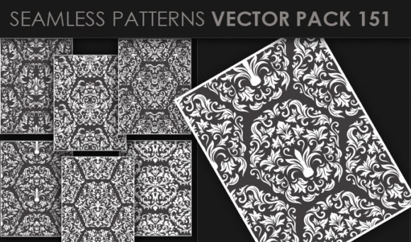 Seamless Patterns Vector Pack 151 products designious vector seamless 151 small