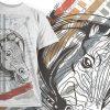 T-shirt Design 702 products designious tshirt design 701