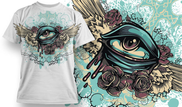 T-shirt Design 702 T-shirt Designs and Templates vector