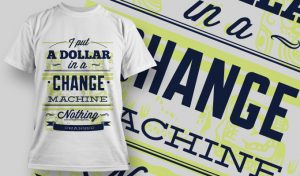 T-shirt Design 712 T-shirt designs and templates vector
