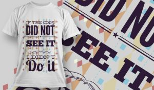 T-shirt Design 715 T-shirt designs and templates vector
