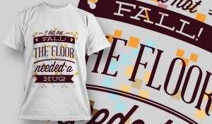 T-shirt Design 716 T-shirt designs and templates vector