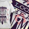 T-shirt Design 718 T-shirt Designs and Templates vector
