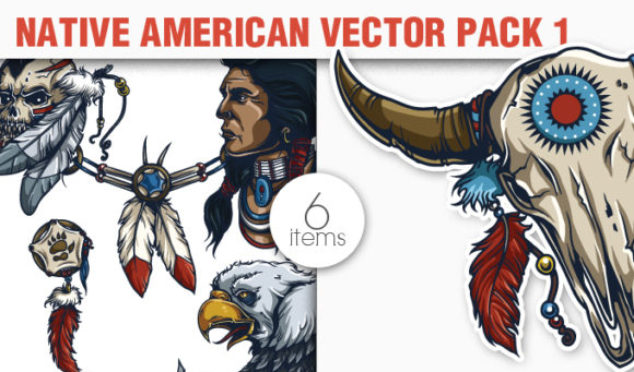 Native American Vector Pack 1 4