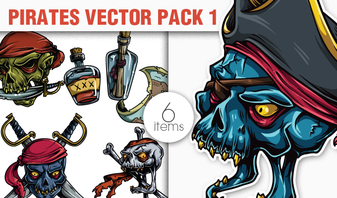 Pirates Vector Pack 1 Freebies [tag]