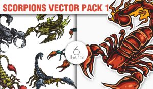 Scorpions Vector Pack 1 Nature [tag]