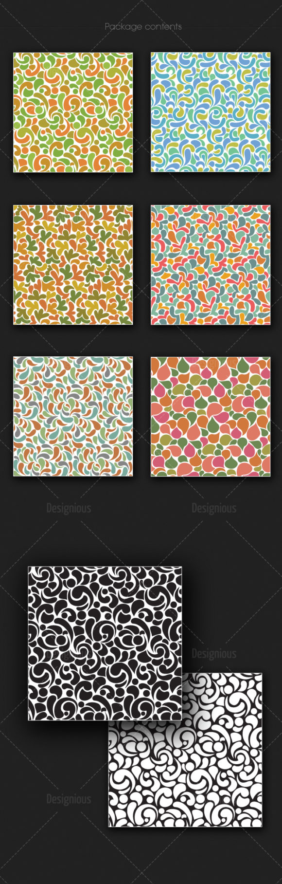 Seamless Patterns Vector Pack 152 products designious vector seamless 152 large