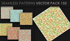 Seamless Patterns Vector Pack 152 Patterns [tag]