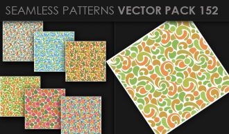 Seamless Patterns Vector Pack 152 Vector Patterns [tag]