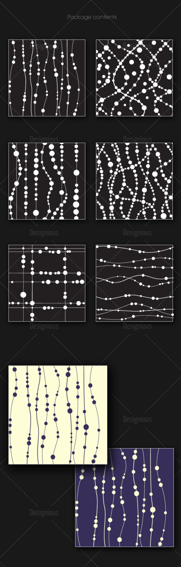 Seamless Patterns Vector Pack 153 6