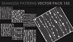 Seamless Patterns Vector Pack 153 Patterns [tag]