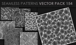 Seamless Patterns Vector Pack 154 Patterns [tag]
